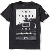 Under Armour Big Boys 8-20 Any Court Any Time Short-Sleeve Graphic Tee