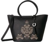 Badgley Mischka Cage Shopper Handbags