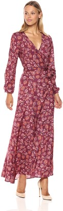 The Fifth Label Women's Long Sleeve Maxi Wrap Dress