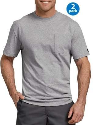 Dickies Genuine Men's Short Sleeve Heavyweight Pocket T-Shirt, 2-Pack