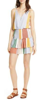 Dolan Portia Smocked Waist Minidress