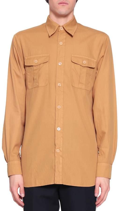 Dries Van Noten Cheviot Cotton Shirt