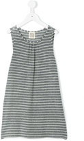 Douuod Kids - striped dress - kids - Polyamide/Polyester/Spandex/Elastane/Viscose - 4 yrs