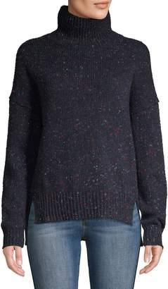 En Thread Speckled Turtleneck Sweater