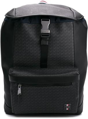 Tommy Hilfiger logo buckle backpack