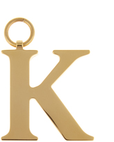 CHAOS K gold-plated charm