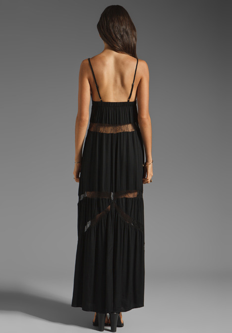Style Stalker All the Way Lace Maxi Dress