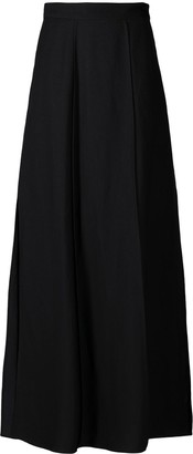 Brunello Cucinelli Paneled Full-Length Skirt