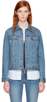 A.P.C. Indigo Denim Brandy Jacket
