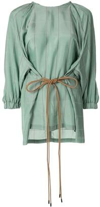 Muller of Yoshio Kubo Lyn check-print blouse