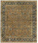 Safavieh Persian Yazd c. 1900 Hand-Knotted Wool Rug