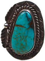 One Kings Lane Vintage Turquoise Navajo Sterling Ring
