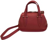 DELPOZO Pink Leather Handbags
