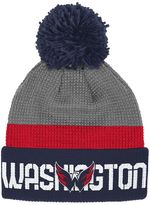 Reebok Adult Washington Capitals Cuffed Pom Knit Hat