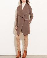 Lauren Ralph Lauren Draped Coat, Only at Macy's