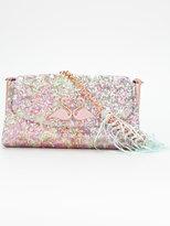 Sophia Webster embellished flamingo bag - women - Calf Leather/Sequin - One Size