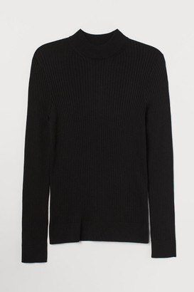 H&M Muscle Fit Sweater - Black
