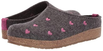 Haflinger Cuoricini (Grey) Women's Shoes