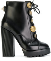 Dolce & Gabbana lace-up buttoned boots
