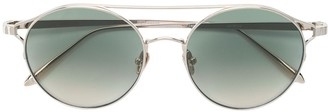 Linda Farrow Round Tinted Sunglasses