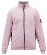 Stone Island Zip-away Hood Nylon Jacket - Mens - Pink