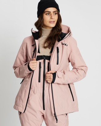 Yuki Threads - Women's Pink Jackets - Meadows Jacket - Size One Size, XS at The Iconic
