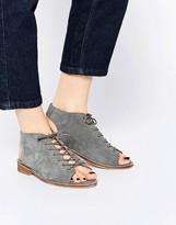 Asos ARCHIE Suede Lace Up Shoe Boots