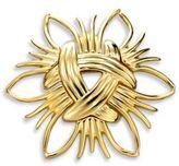 Kenneth Jay Lane Abstract Sunburst Pin