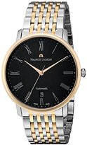 Maurice Lacroix Men's LC6067-PS103-310 Les Classiques Analog Display Swiss Automatic Silver Watch