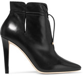 Jimmy Choo Murphy Cutout Leather Ankle Boots - Black