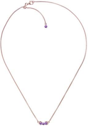 Tsai X Tsai San Shi Amethyst Necklace, 18 Ct Rose Gold Vermeil