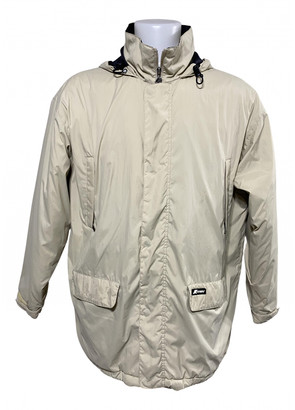K-Way Beige Polyester Jackets