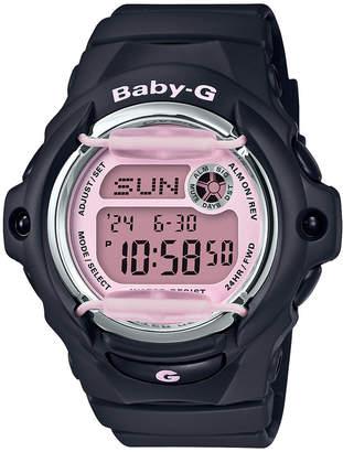 G-Shock Baby-g Women Digital Black Resin Strap Watch 42.6mm