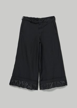 Comme des Garcons BLACK Women's Wide Leg Pant Size Medium 100% Polyester