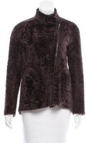 Brunello Cucinelli Shearling Long Sleeve Jacket