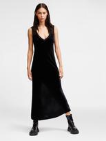 DKNY Velvet Slip Dress