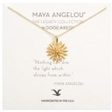 Dogeared Women's Starburst Charm Pendant Necklace
