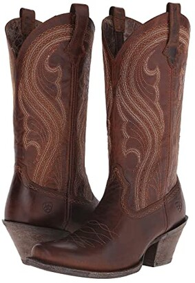 Ariat Lively (Sassy Brown) Cowboy Boots