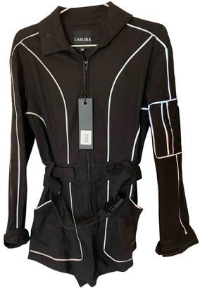 I.AM.GIA Black Cotton Jumpsuits