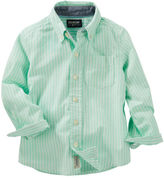 Osh Kosh Striped Button-Front Shirt