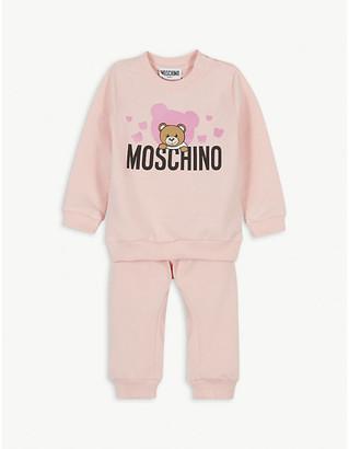Moschino Bear bubble cotton tracksuit set 3-36 months