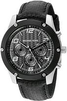 Michael Kors Men's Caine Silver-Tone Watch MK8488