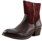 Hudson Riley Women Round Toe Leather Boot.