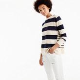 J.Crew Italian cashmere mixed-stripe crewneck sweater