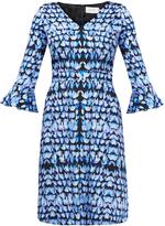 Goat Cristiana Leaf Print Dress
