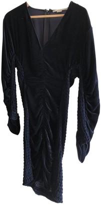 Stella McCartney Stella Mc Cartney Blue Velvet Dresses