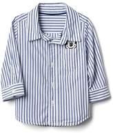Gap babyGap | Disney Baby Mickey Mouse stripe shirt