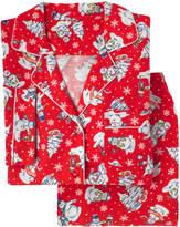 Cath Kidston Snowmen Brushed Flannel Long PJ Set