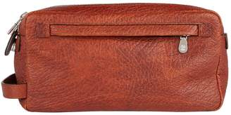 Brunello Cucinelli Leather Zip Bag