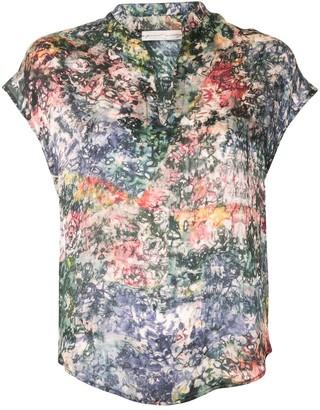 Raquel Allegra Fez abstract-print blouse